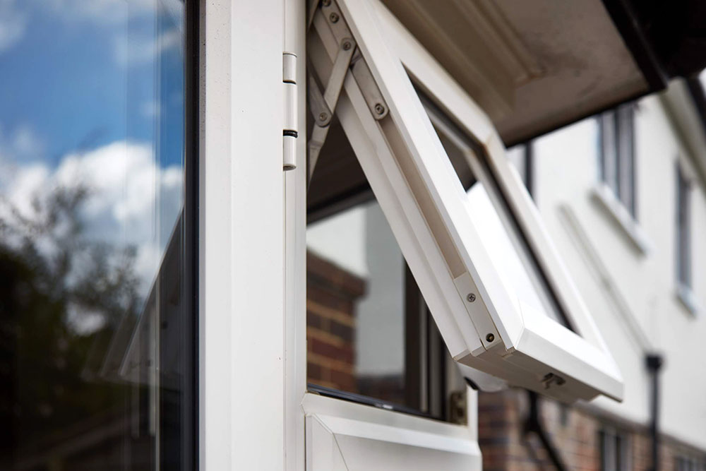 top hung casement window in white knight upvc Patolia5354