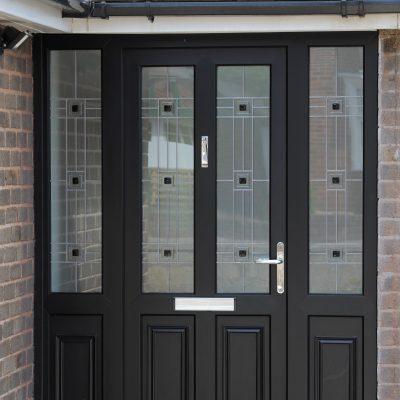 uPVC Resi Doors