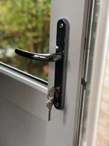 uPVC back door handle